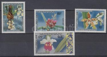 1971 Őshonos orchideák sor Mi 311-314