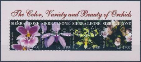 2004 Orchideák kisív Mi 4563-4566