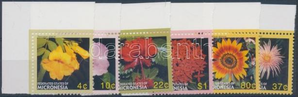 2005 Virágok ívsarki sor Mi 1690-1695