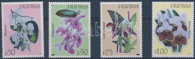 2003 Forgalmi: orchideák sor Mi 3426-3429
