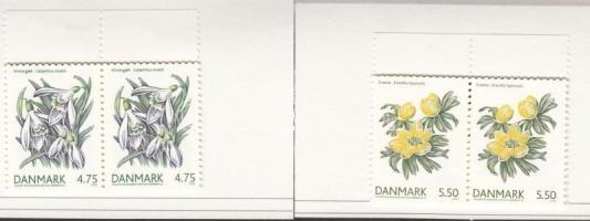 2006 Tavaszi virágok 2 bélyegfüzet Mi 1423-1424