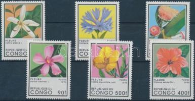 Flowering plants set, Virágzó növények sor