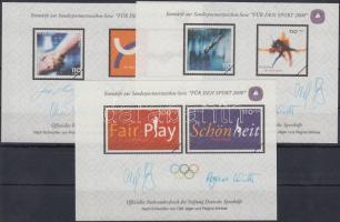 2000 Téli Olimpiai 3 db emlékív