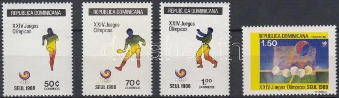 1988 Nyári olimpia, Szöul sor Mi 1563-1566