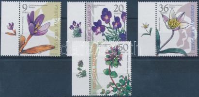 2003 Őshonos növényvilág ívszéli sor Mi 292-295