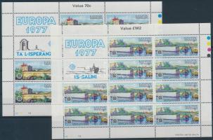 1977 Europa CEPT, Tájak kisív sor Mi 554-555