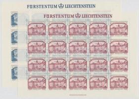 Europa CEPT, Historic Buildings mini sheet set, Europa CEPT, Történelmi épületek kisív sor