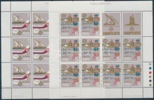 1979 Europa CEPT, Posta és távközlés története kisív sor Mi 594-595