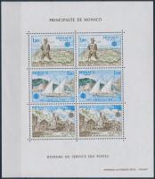 1979 Europa CEPT, Posta és távközlés története blokk Mi 15