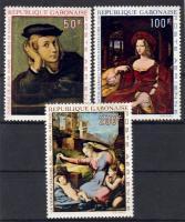 Raphael's paintings set, Raffaello festmények sor, Gemälde von Raffael Satz