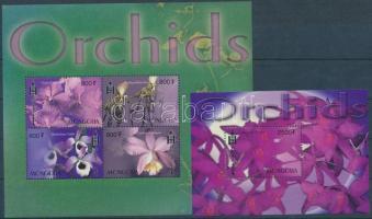 2003 Orchideák kisív Mi 3486-3489 + blokk Mi 343