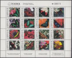 1993 Lepkék teljes ív Mi 1193-1208