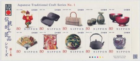 Handicraft mini sheet, Kézművesség kisív
