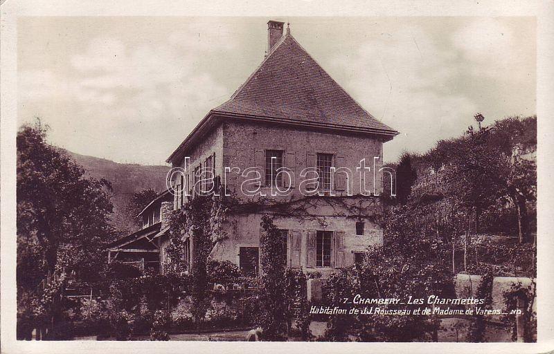 Chambéry, Les Charmettes, House of Rousseau and Madame de Varens