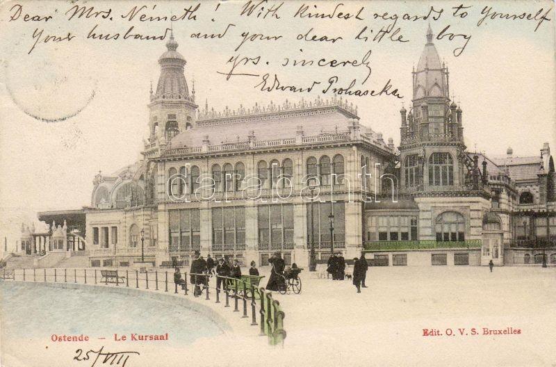 Ostend, Ostende; spa