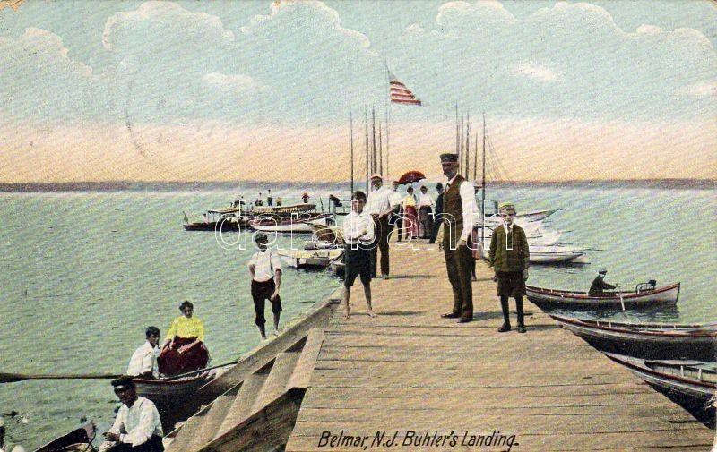 Belmar, New Jersey, Buhler's landing