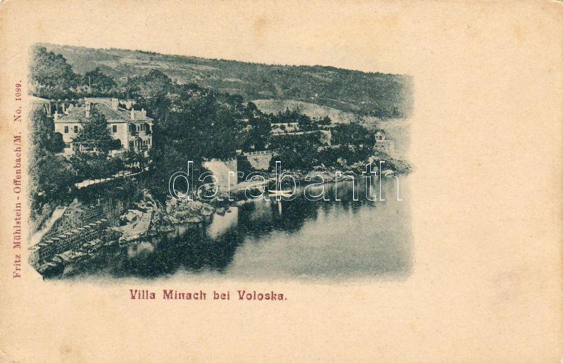 Voloska, Villa Minach, Voloska, Villa Minach