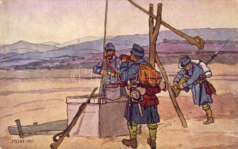 Old insurgents, Military Support Relief s: Juszkó, Öreg népfölkelők, Hadsegélyező s: Juszkó
