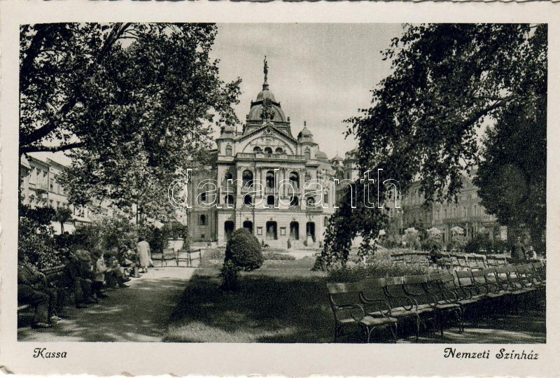 Kassa, Kosice; National theatre, Kassa, Kosice; Nemzeti színház