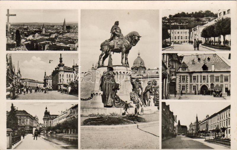 Kolozsvár, statue of Matthias Corvinus, Kolozsvár, Mátyás szobor