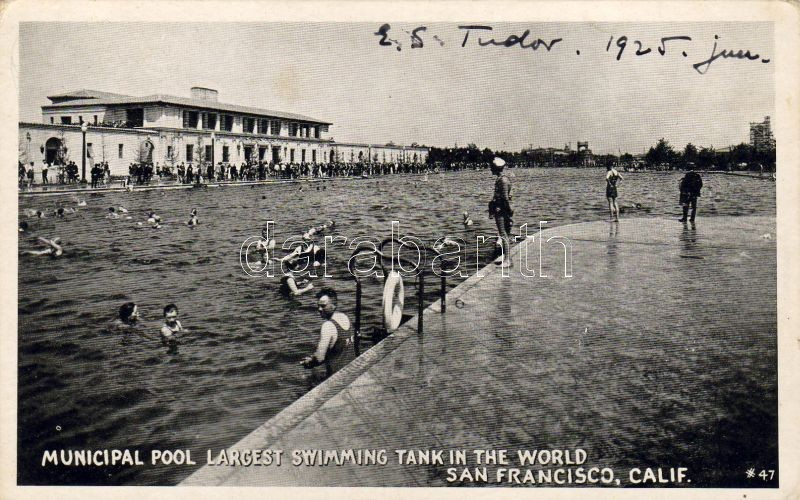 San Francisco, Municipal pool, largest swimming tank in the world