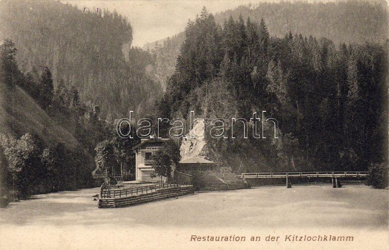 Kitzlochklamm, Restaurant