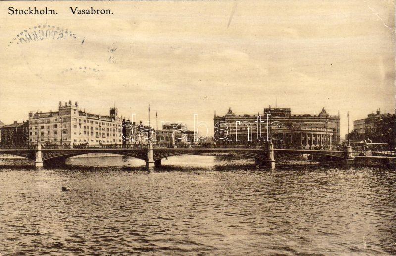 Stockholm, Vasabron / bridge