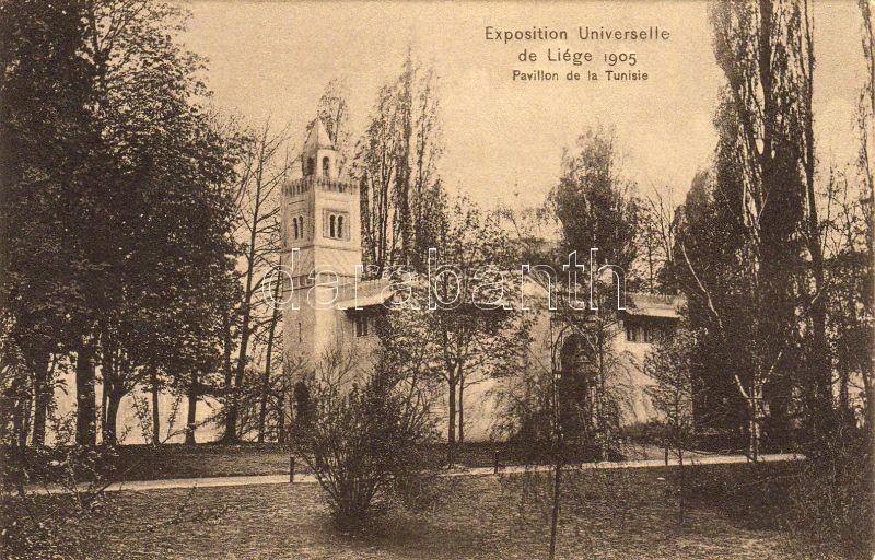 Liege, Exposition Universelle et Internationale de Liege, Pavillon de la Tunisie / World's fair, pavilion 1905