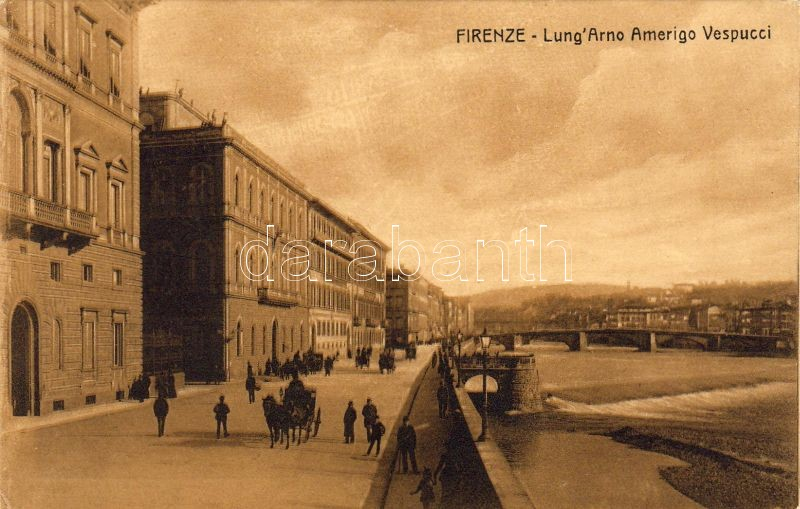Firenze, Lungarno Amerigo Vespucci, Ponte Amerigo Vespucci / bridge