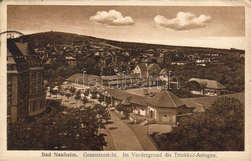 Bad Nauheim, Trinkkuranlage / thermal well