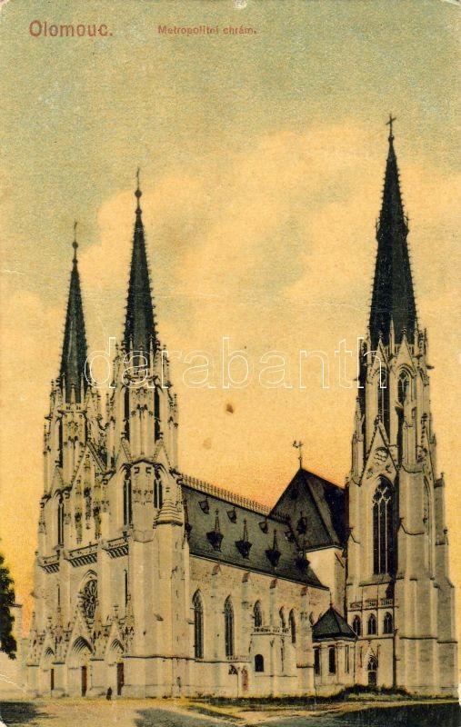 Olomouc, Olmütz; Saint Wenceslas Cathedral