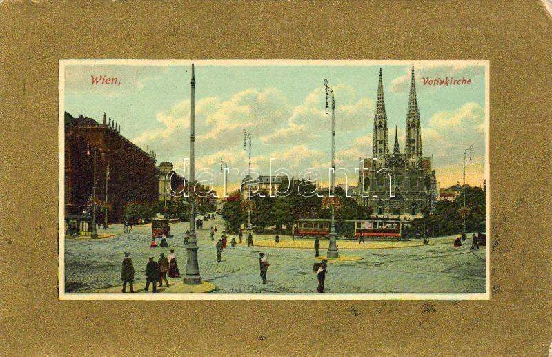 Vienna, Wien I. Voltive church, tram