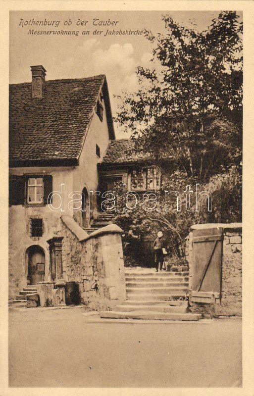 Rothenburg ob der Tauber, Messnerwohnung an der Kakobskirche / apartment, church