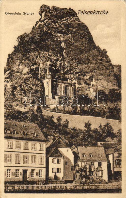 Idar-Oberstein, Felsenkirche / church