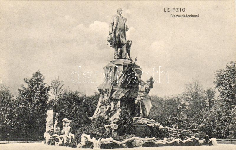 Leipzig, Bismarck statue