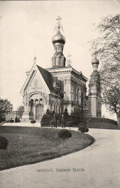 Darmstadt, Russian Chapel