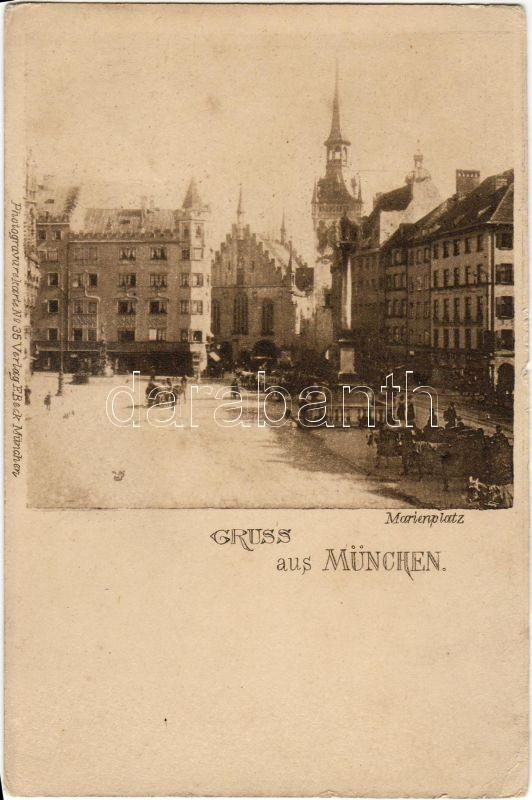 München, Marienplatz / square