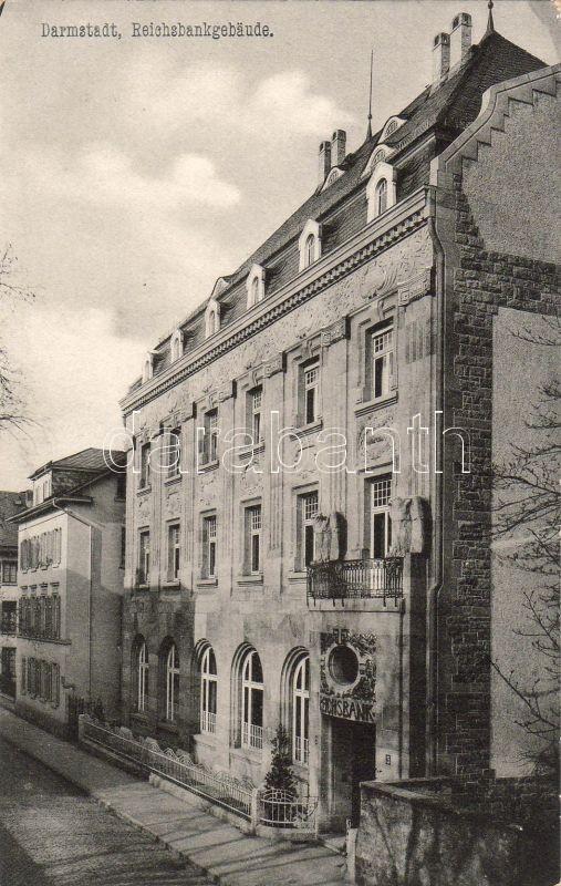 Darmstadt, Reichsbankgebäude / bank