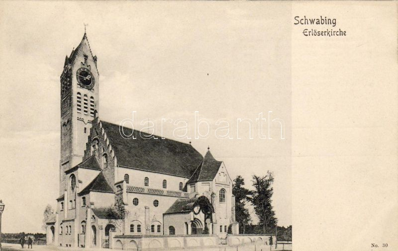 München, Schwabing, Erlöserkirche / church