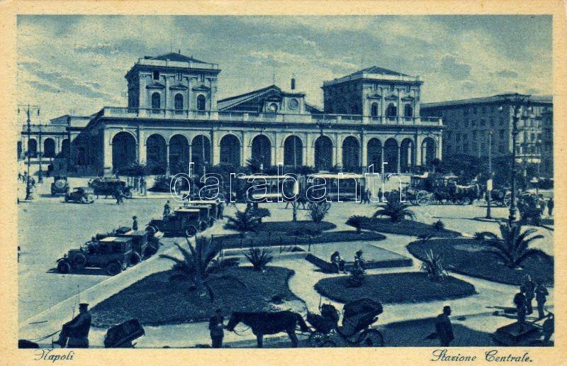 Naples, Napoli; Stazione Ferroviaria Centrale / railway station