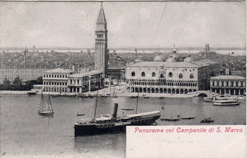Venezia, Venice; St Mark's Campanile