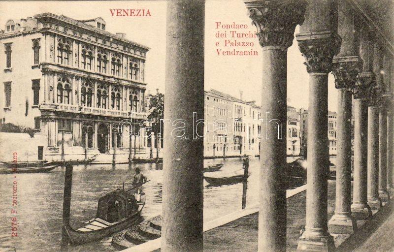 Venezia, Venice; Fondaco dei Turchi e Palazzo Vendramin / warehouse, palace