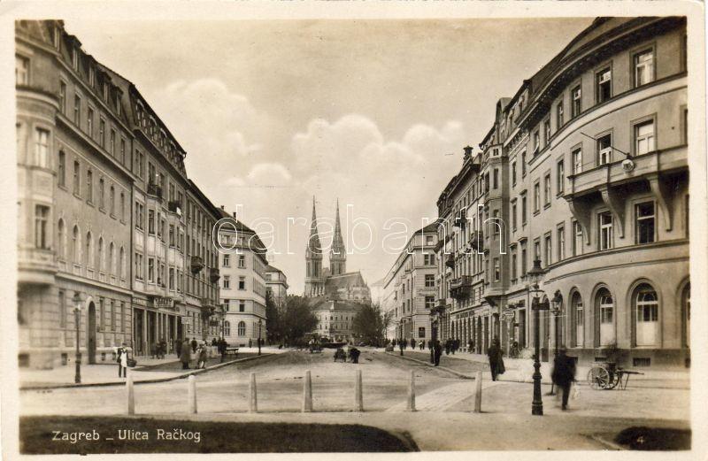 Zagreb, Ulica Rackog / street
