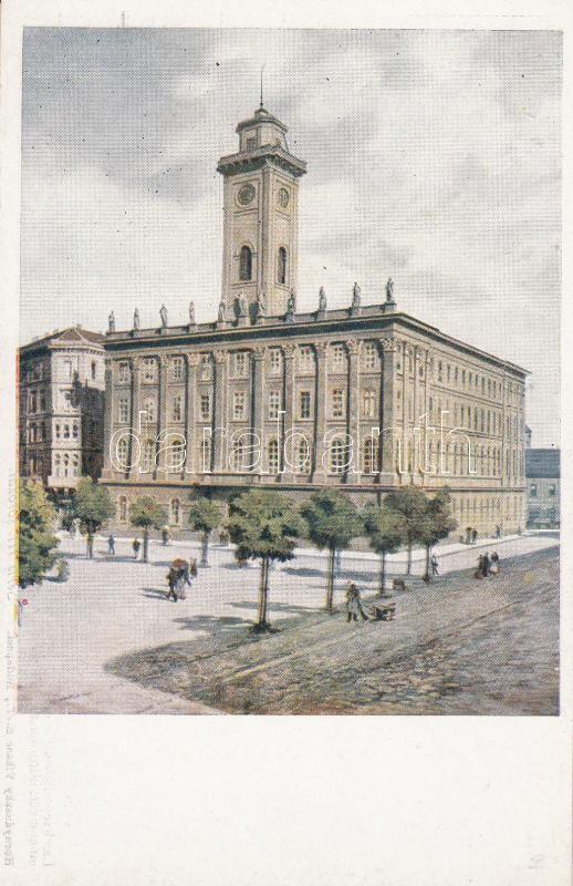 Budapest V. Régi városháza Budapest V. Old town hall