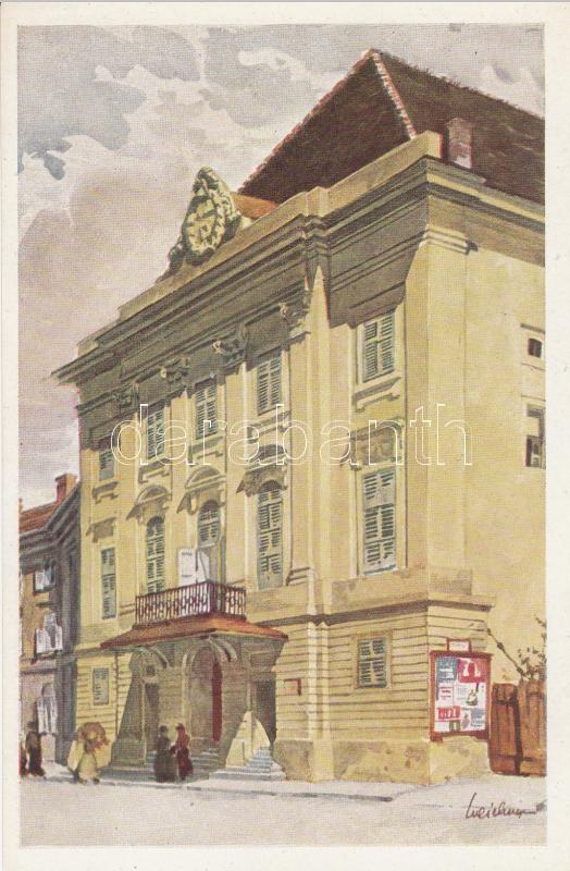 Budapest I. Castle Theatre s: Weichenger Budapest I. Várszínház s: Weichenger