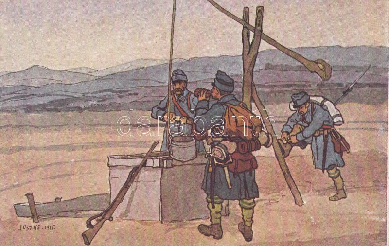 """""""Old soldiers"""", s: Juszkó """"Öreg népfelkelők"""", s: Juszkó"""