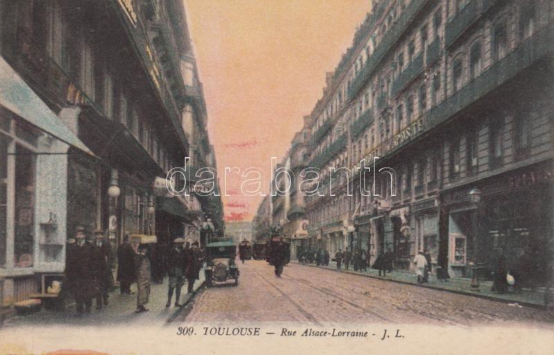 Toulouse, Rue Alsace-Lorraine, szálloda Toulouse, Rue Alsace-Lorraine, Hotel Post