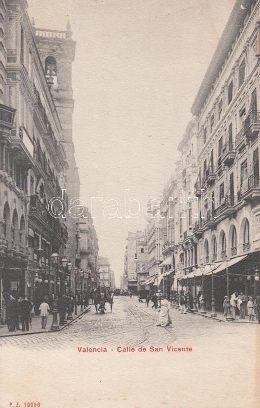 Valencia, Calle de San Vicente