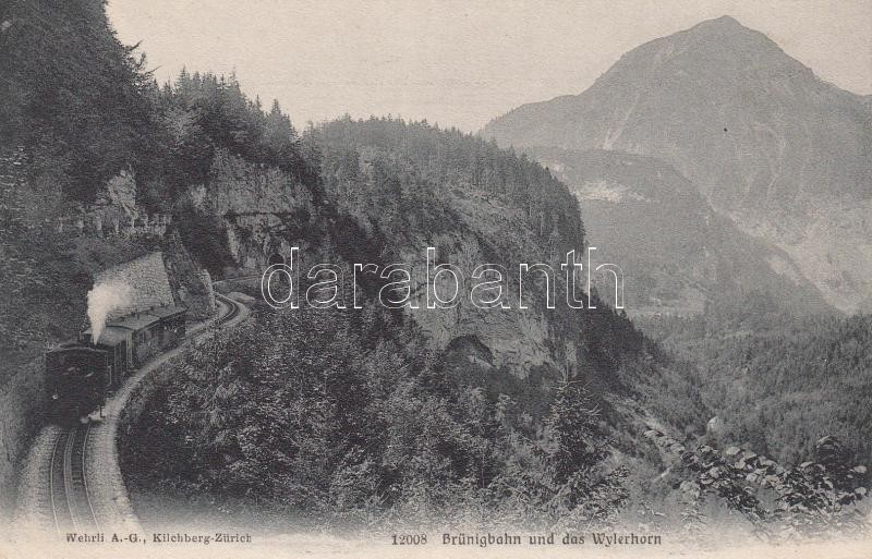 Brünigbahn vasút, Wylerhorn Brünigbahn railway, Wylerhorn