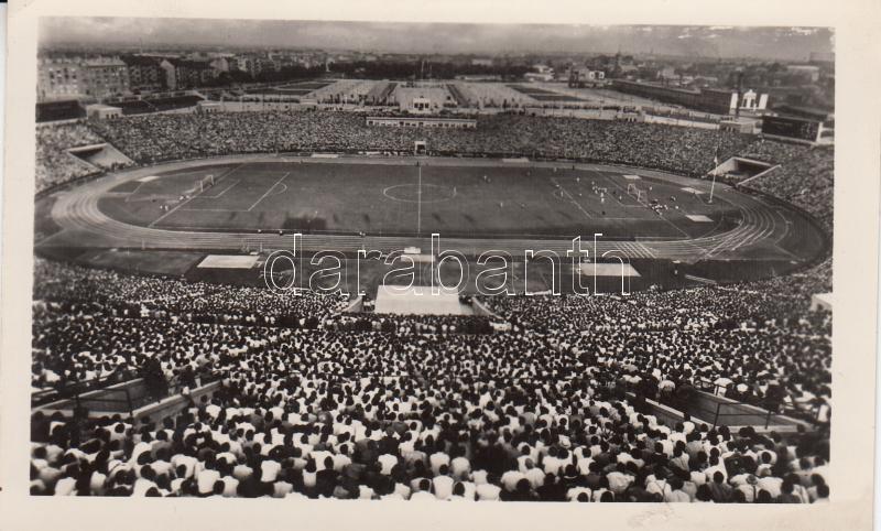 1955 Budapest XIV. Népstadion, Osztrák-Magyar labdarugómérközés So. Stpl